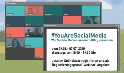 Webinarreihe - #You are Social Media
